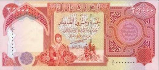 Iraqi Dinar Gift