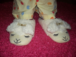 Slippers for Christmas!