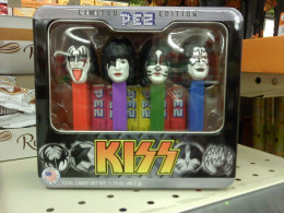 I got this totally bad-ass KISS PEZ dispenser set for Christmas in 2012. Yeah, I know, you're all dyin' of jealousy.