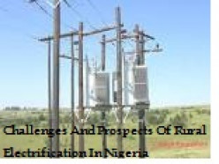 Rural Electrification In Nigeria