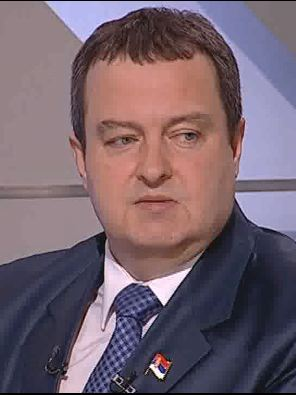 Prime-minister, Ivica Dacic.
