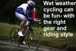 Safety Tips For Cycling In The Wet