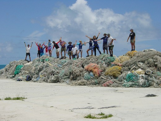 There are many groups offering education and clean-up efforts of our seas, but we all need to do our part.