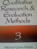 A Good Textbook for Qualitative Research and Evaluation Methods