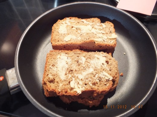 Oh yes, this is my lovely rye soda bread. Check my blog on how you to can make this quick, easy and oh so satisfying bread.