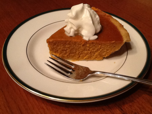 Pumpkin Pie:  The Traditional Thanksgiving Dessert