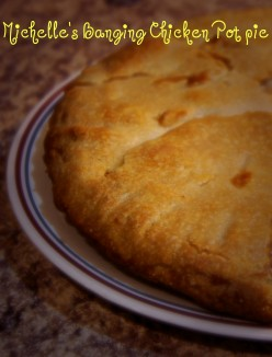 Michelle's Banging Chicken Pot Pie