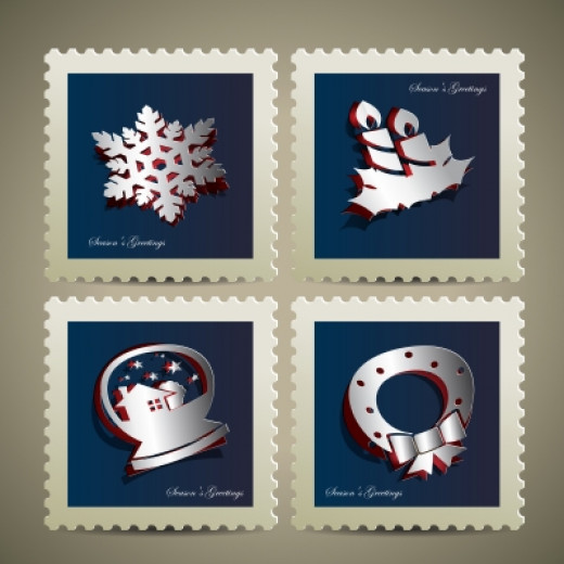 Merry Christmas Stamp