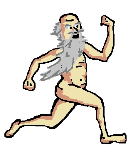 Archimedes streaking