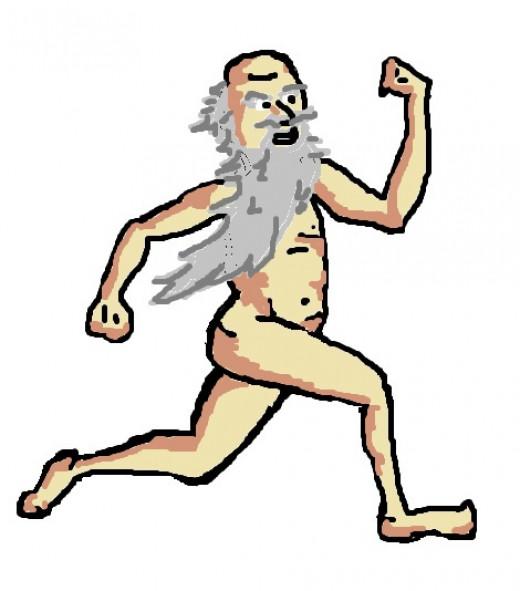 Archimedes streaking