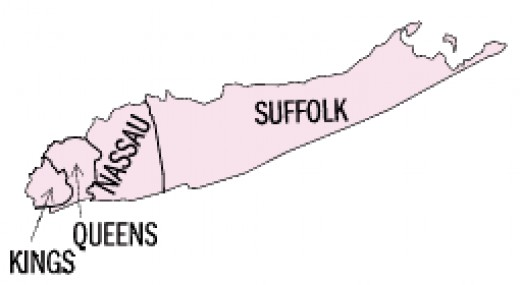 The Counties of Long Island, New York