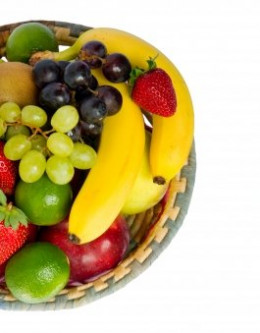 A fully stocked fruit basket on your kitchen bench or your office desk is all it takes to increase your fruit intake every day.