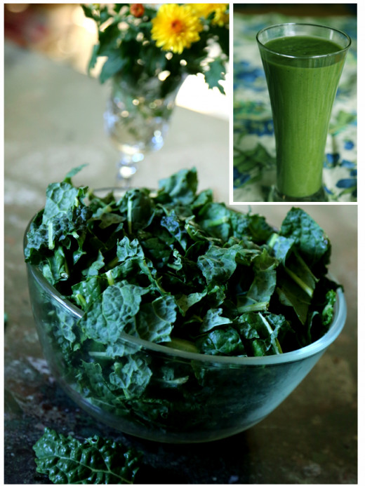 Drink your greens in green smoothies!   Learn more on GreenReset.com