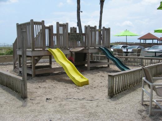 Slider's beach playground