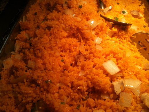 Yellow Rice with Onions