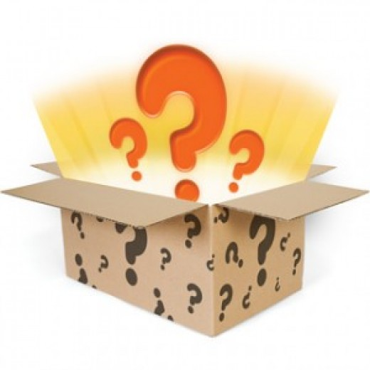 Who knows what lurks in the gift box of mystery?