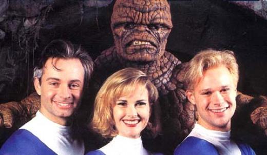 Fantastic Four (1994) Publicity Shot