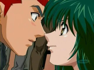 Kanou and Miki.