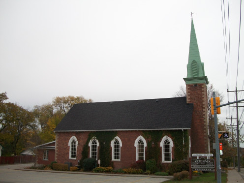 Erindale Presbyterian Church, formerly Springfield Methodist Church, Mississauga