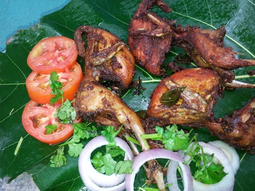 Quail Fry Indian Recipes