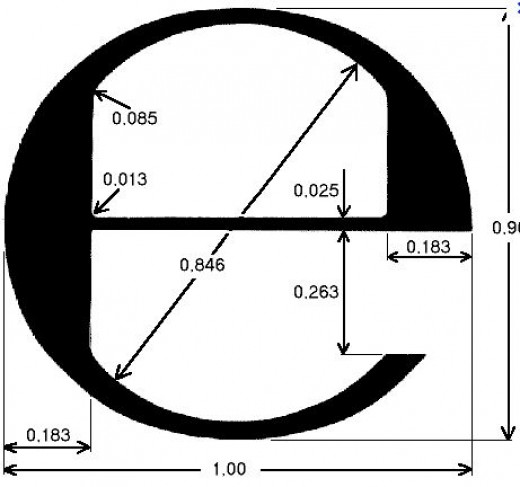 e mark for used on UK Average Weight Packaged Goods