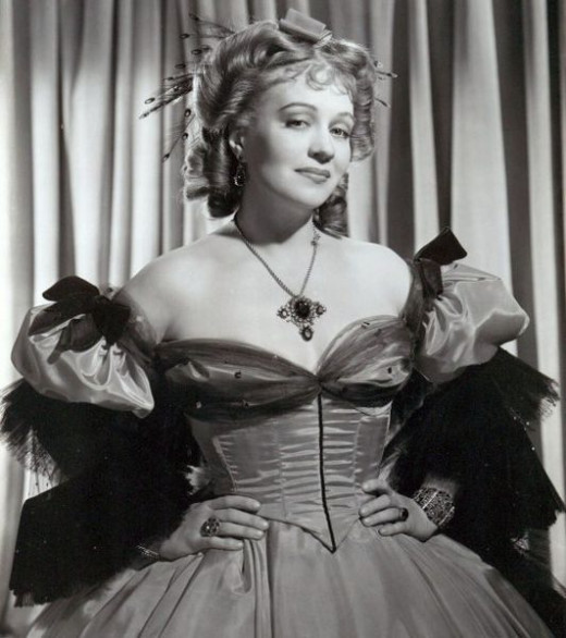 Ona Munson as Belle Watling in 'Gone with the Wind'