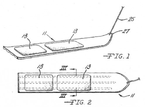 Snurfer Patent (US 3378274) diagram