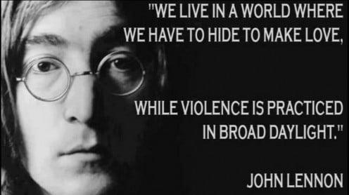 A Quote by John Lennon
