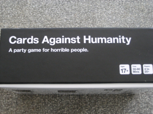 Cards Against Humanity comes in a box of 550 cards.