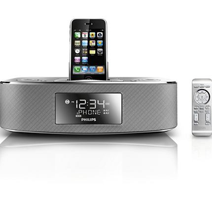 The Philips DC290B/37 model supports iPhone models up to the iPhone 3GS and iPod Touch models through the fourth generation of the device.