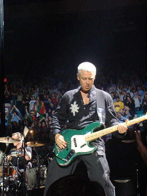 U2 Bassist, Adam Clayton