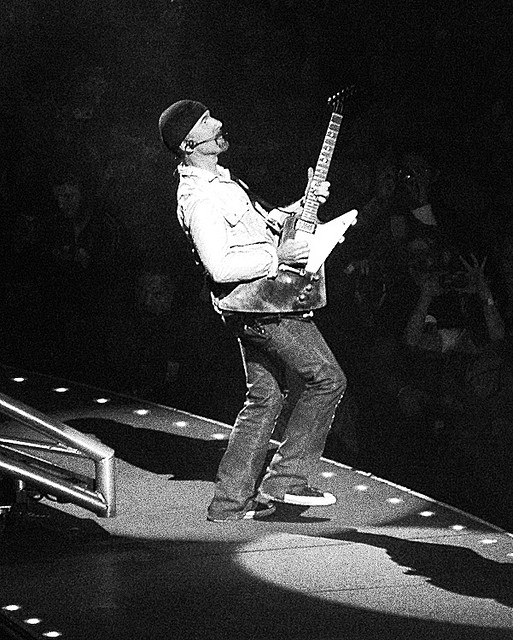 The Edge Onstage