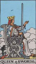 Court Cards - Queen of Swords