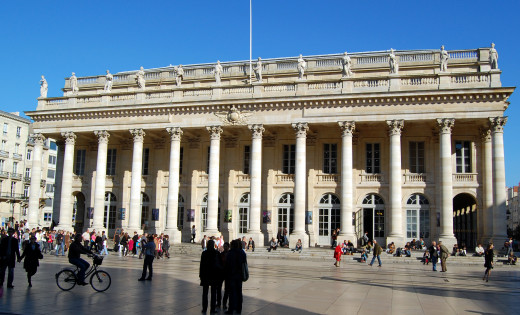 Grand Theatre in Bordeaux