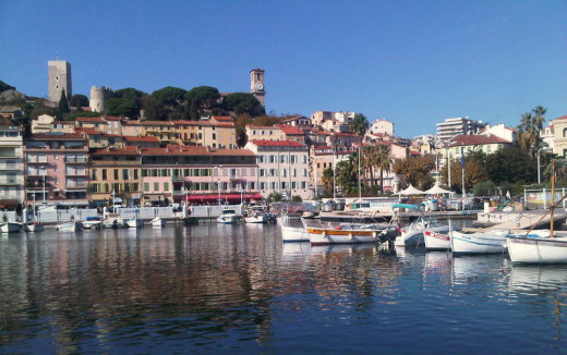 Old harbor of Cannes