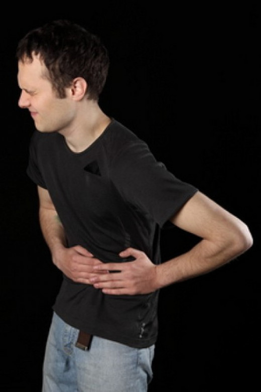 Abdominal pain!