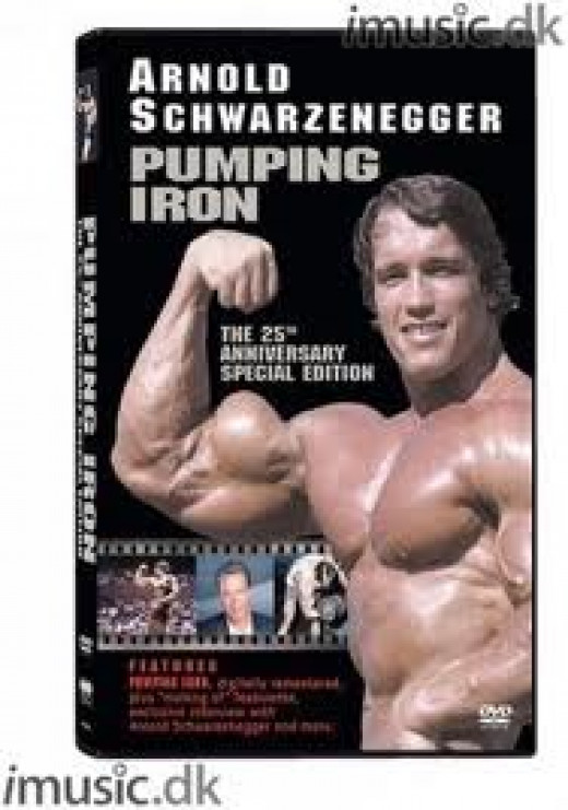 Double Disc Collection of Pumping Iron. Arnold  won mr. Olympia and many other body building awards before he became famous as an action star.