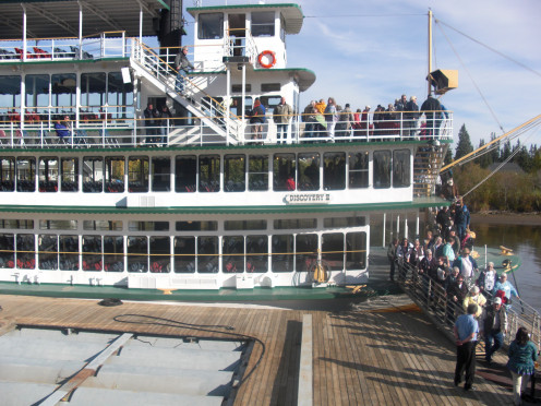 A photo of the Riverboat Discovery