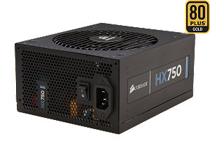 Corsair 750W 80 PLUS GOLD Certified