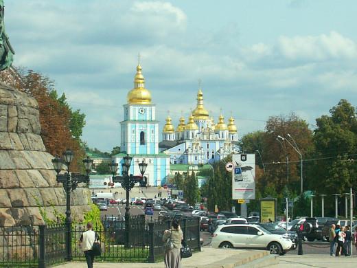 Kyiv, Photo of Sofiyevska Square