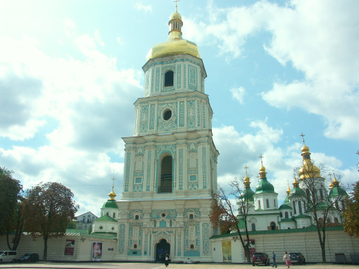 Kyiv, Sofievskiy Cathedral