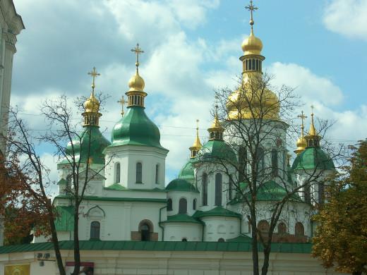 Kyiv, Sofiyevskiy Cathedral