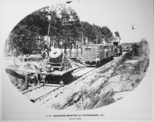Railroad at Petersburg