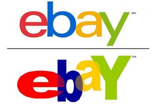 New eBay Logo (top) Old eBay Logo (bottom)