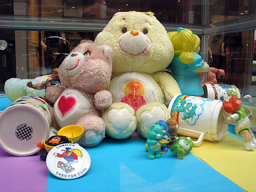 Care bears take care of children