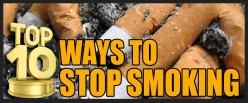 Top 10 Ways to Stop Smoking