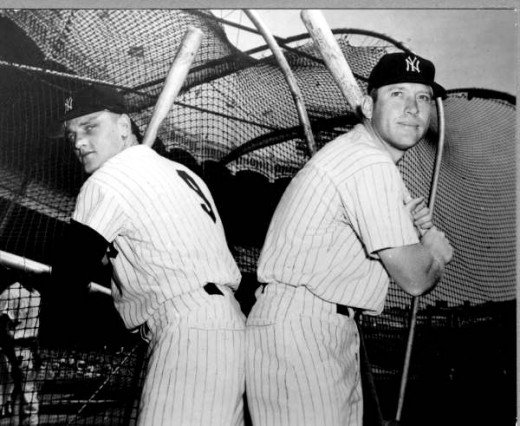 mickey mantle and roger maris relationship help