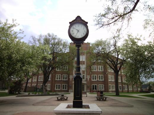 Twamley Hall at the University of North Dakota.