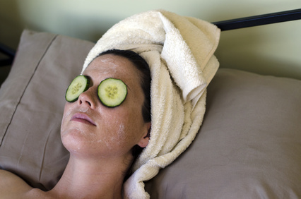 Grab your cucumbers and get ready to make some skin clearing face masks.
