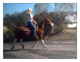...first Clip (of the clip, clop cadence)..